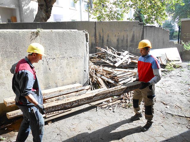 Zusammenarbeit auf dem Bau