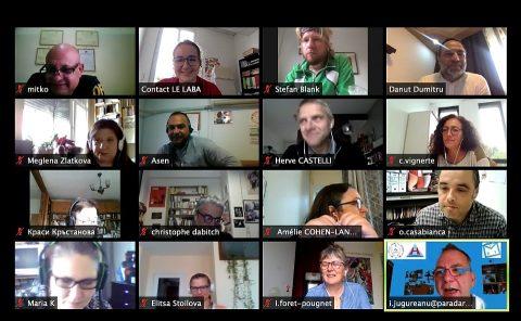 ECRI Online Meeting Screens