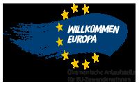 Logo Willkommen Europa