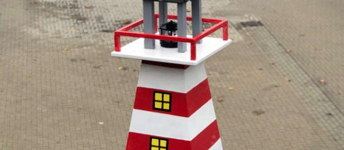 Leuchtturm auf dem Dach