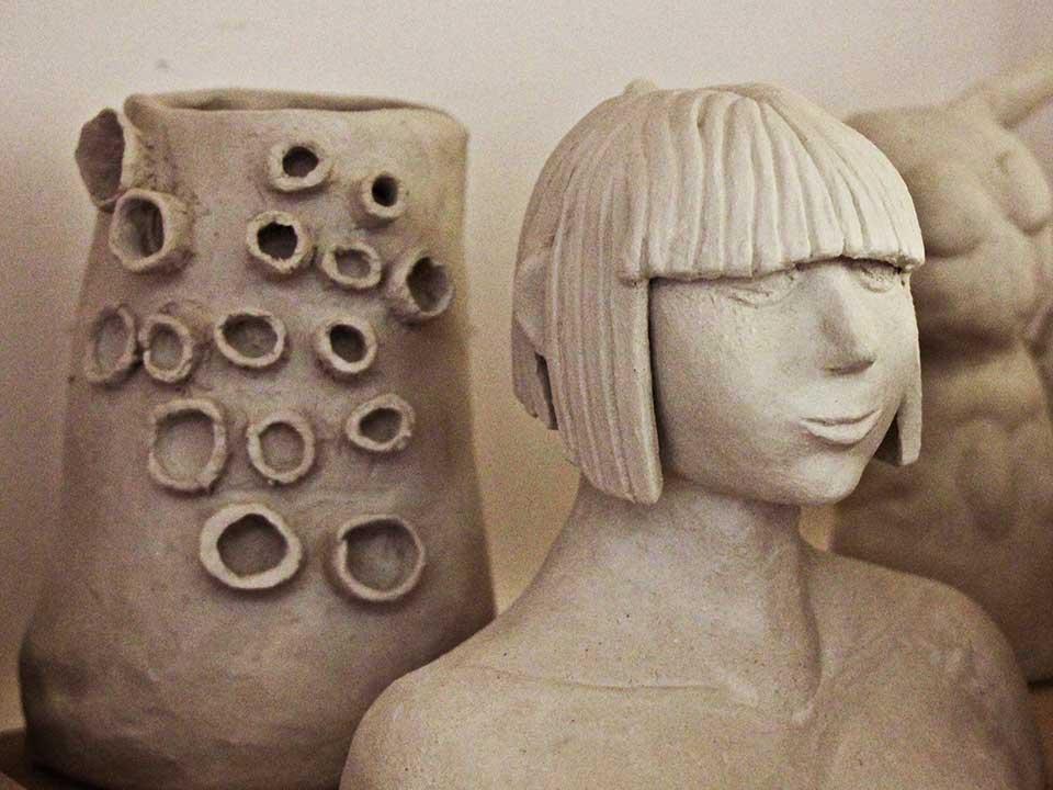 Kreativer Ausdruck durch Keramik