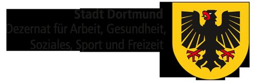 Logo Stadt Dortmund Dezernat für Arbeit, Gesundheit, Soziales, Sport und Freizeit